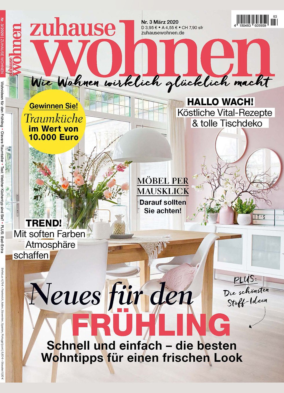 Zuhause Wohnen Magazine Batea M Wooden Center Table Cover March 2020