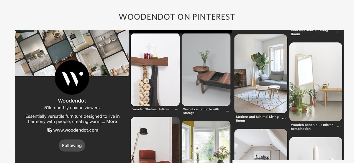 Woodendot Wooden Furniture Pinterest Modern