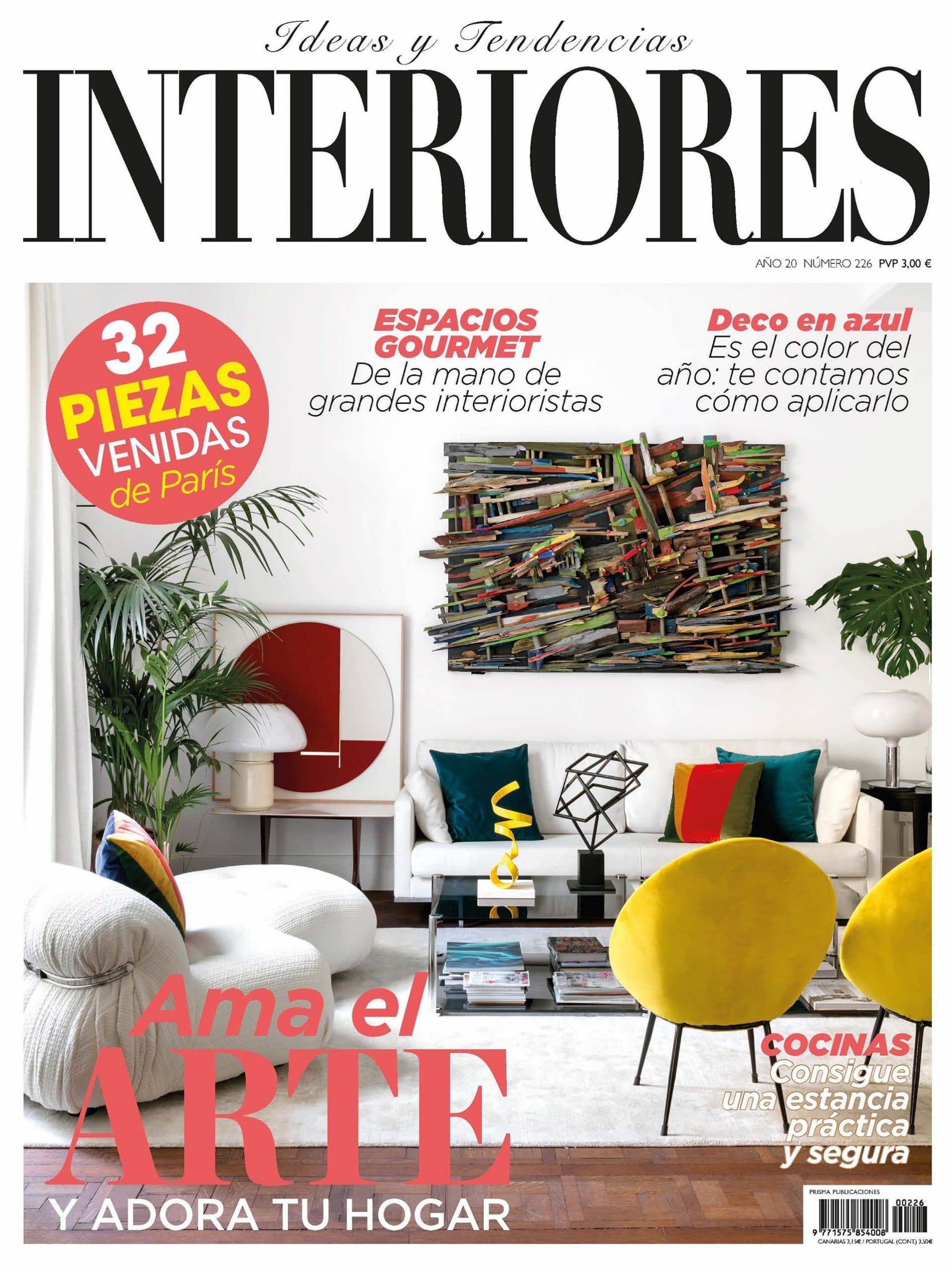 Interiores Magazine Batea L Center Table