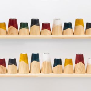 1-woodendot-etna-candle-holder-solid-wood-stained-mustard-yellow-interior