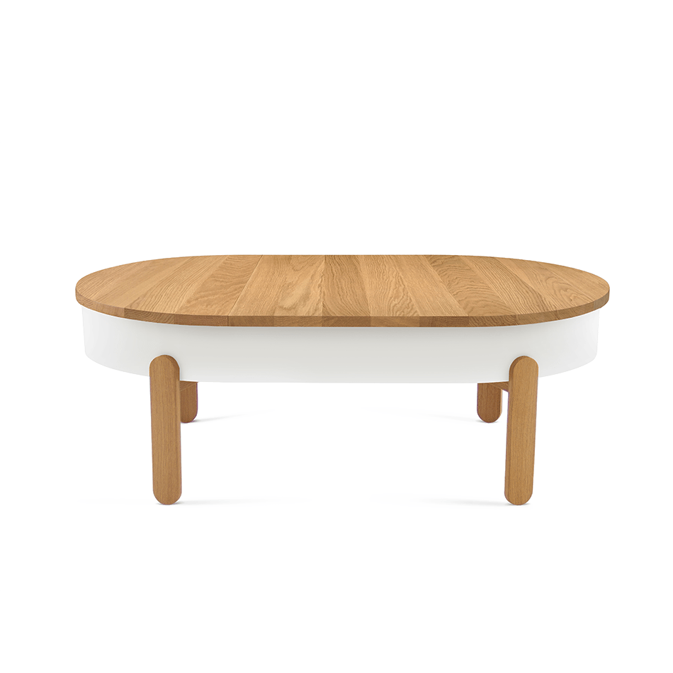 batea l center table with storage nordic furniture