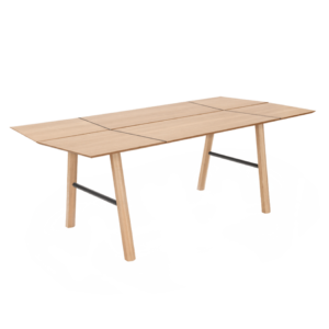 savia dining table all wood furniture