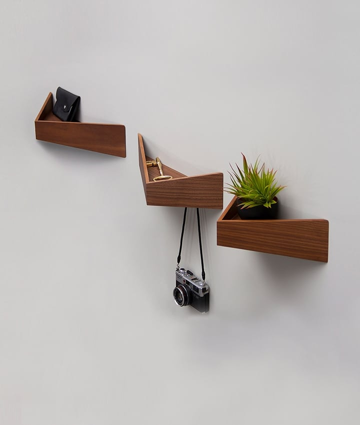 Pelican shelves wood furniture