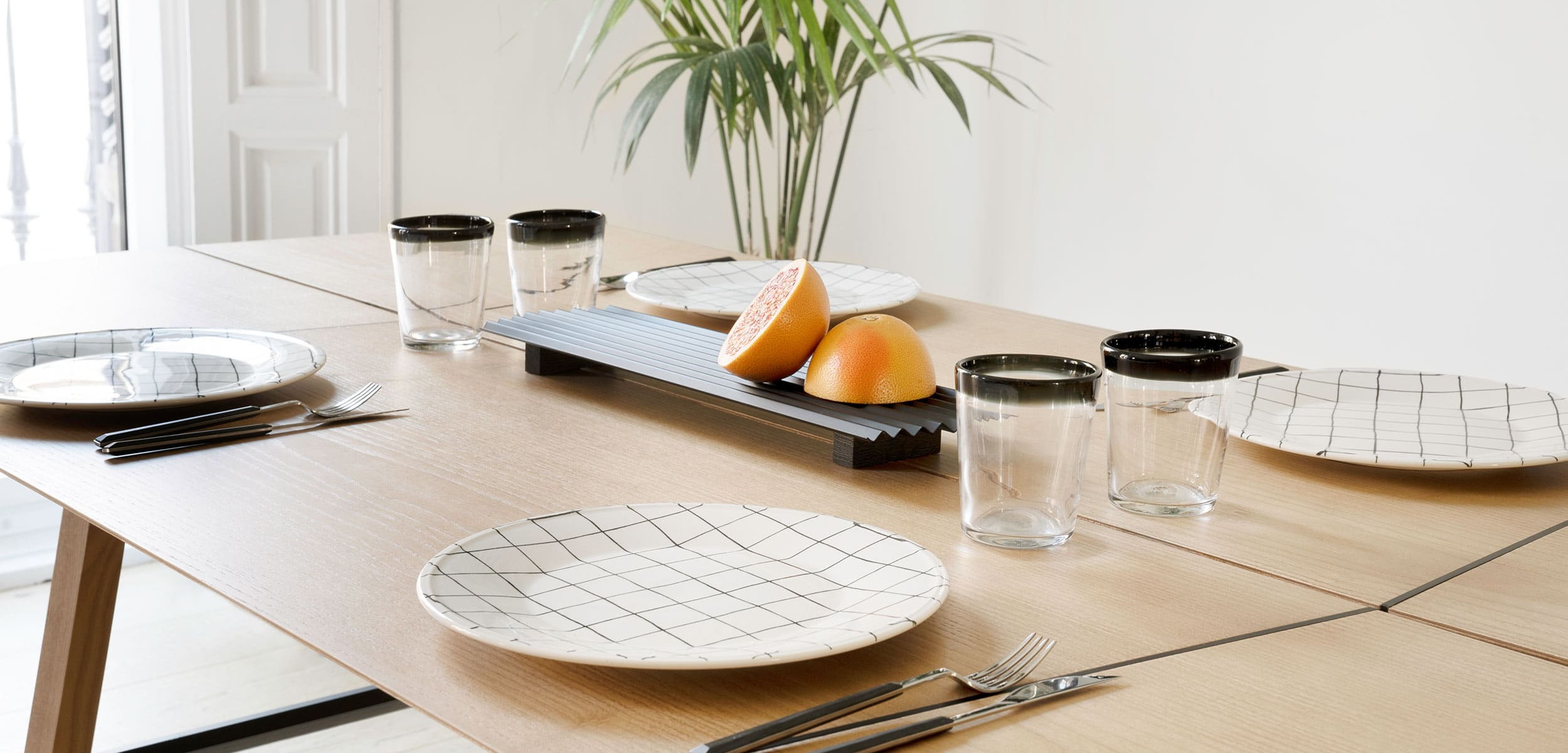 Valle Minimal Tray Set Decor