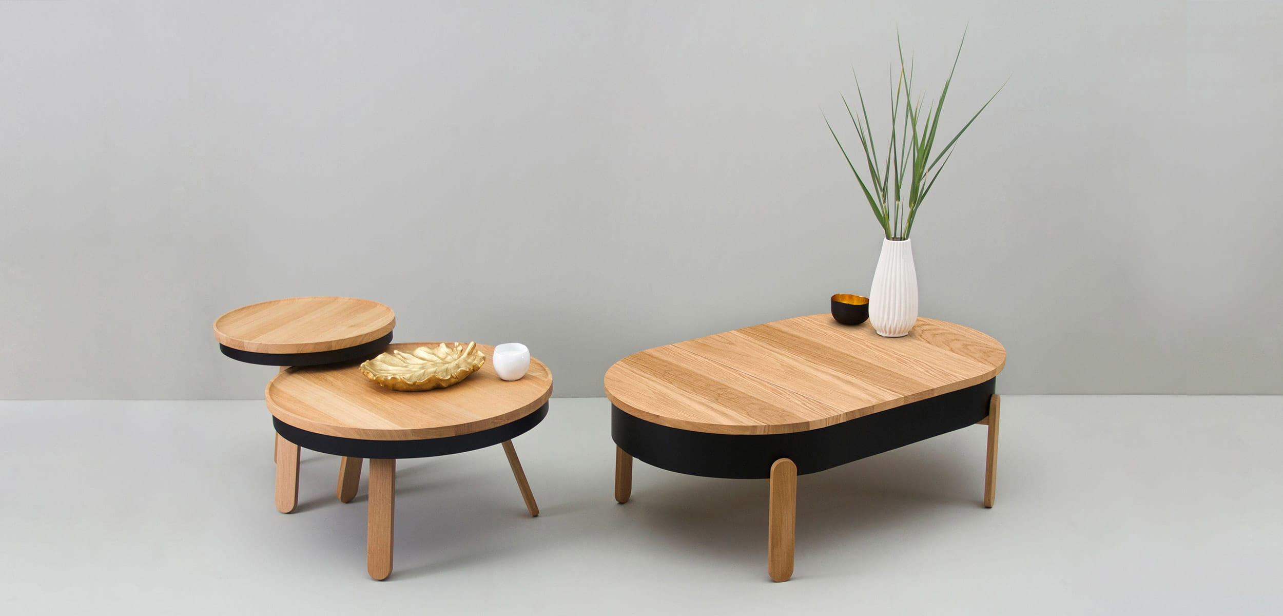 Batea living room center tables minimal