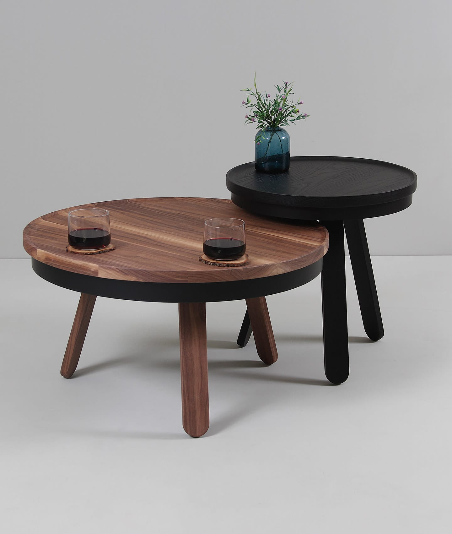 Batea M center table with storage living room