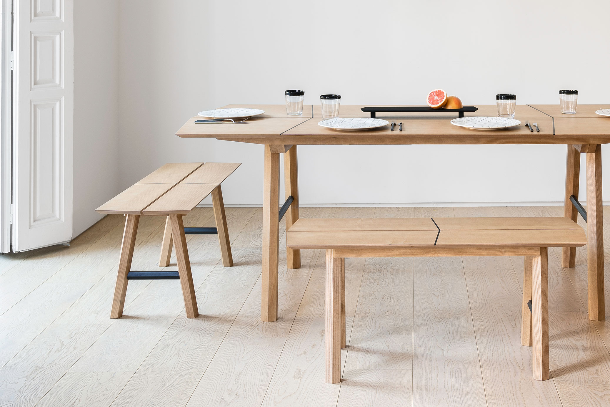Savia desk wooden table multifunctional