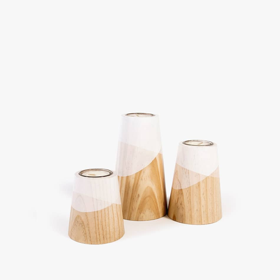 Etna mini candle holder set table decor