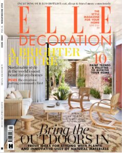 Elle Decor France Cover June 2020 Woodendot