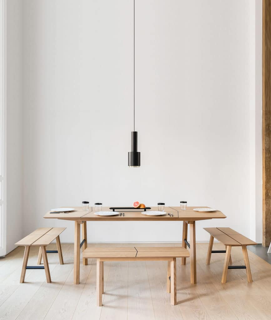 Savia minimalistic furniture design wood woodendot