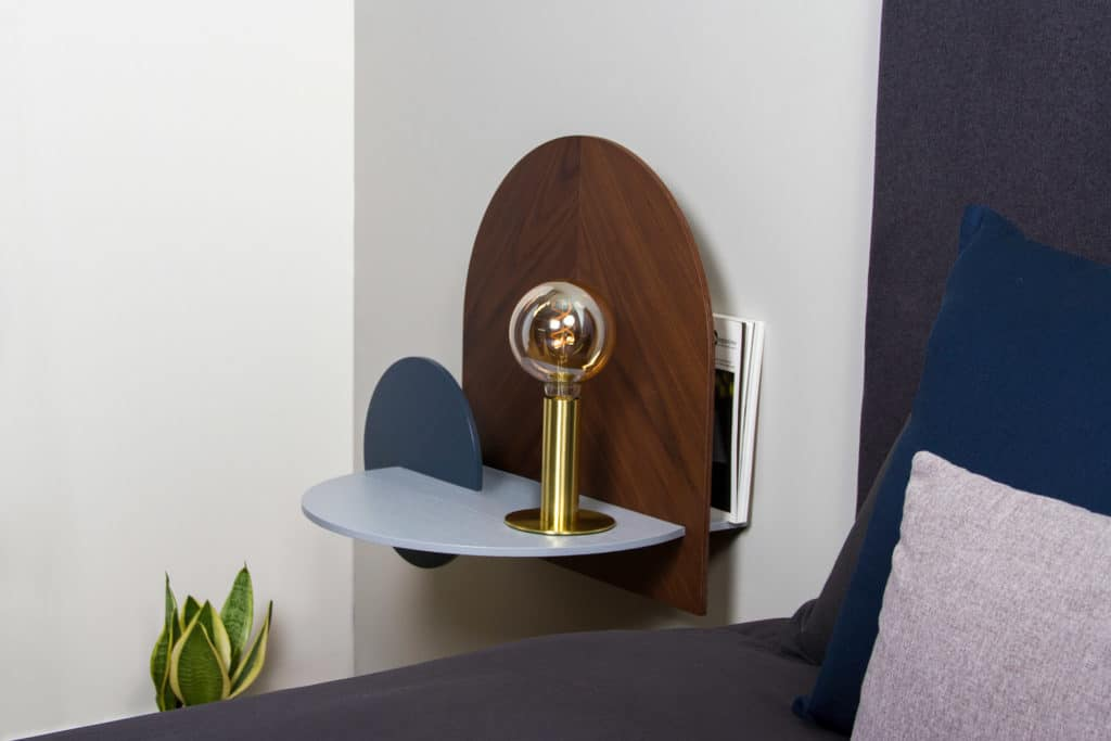 Woodendot Alba Storage Modular Bedside Table